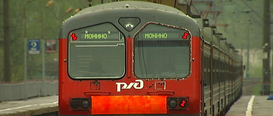Электричка Москва-Королев