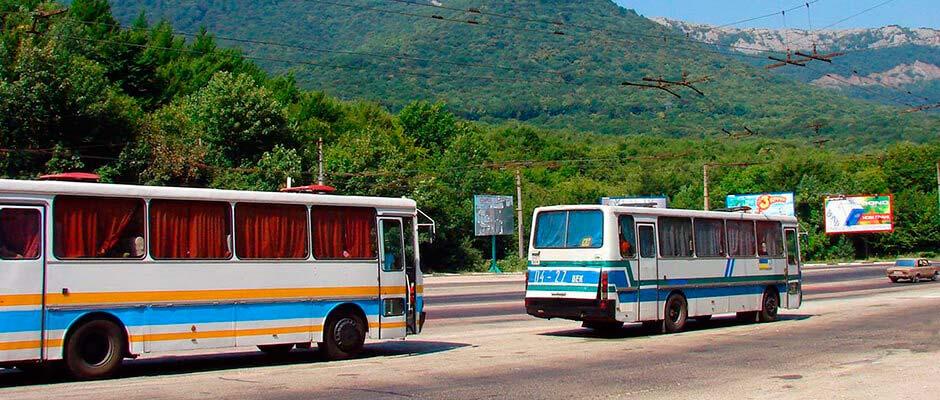 Как добраться до Алушты из аэропорта Симферополя и из Ялты