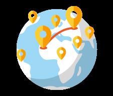Выбрать маршрут такси в Болгарии