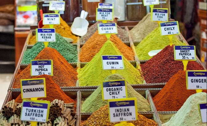 Вкусности в Стамбуле