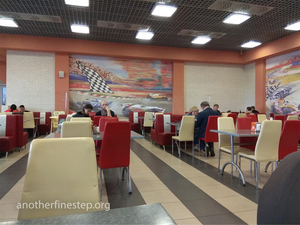 Сеть ресторанов быстрого обслуживания Пит STOP в Минске