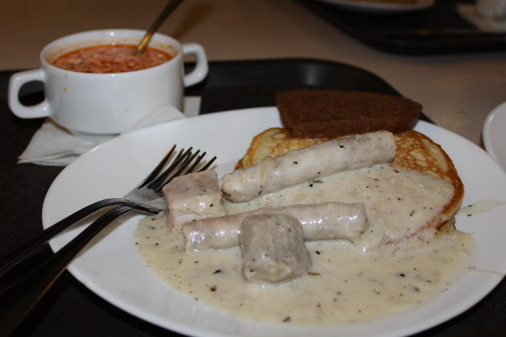 Ресторан славянской кухни Папараць–кветка в Минске