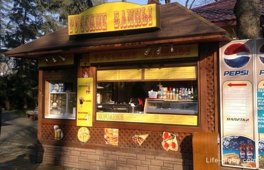 Уличная еда в Сочи