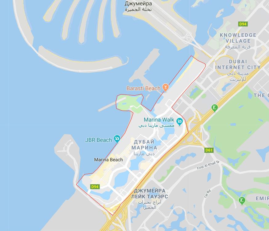Районы дубай купить дом у моря за рубежом