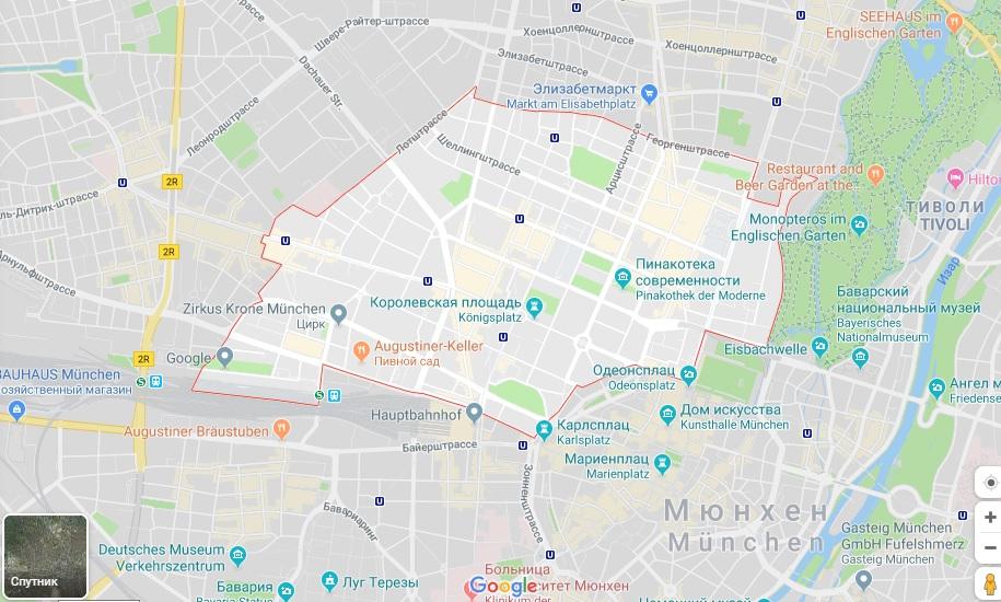 где лучше жить в мюнхене туристу