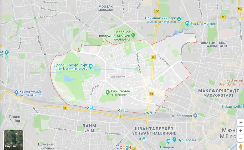 В каком районе мюнхена лучше остановиться недвижимость в дании цены в рублях