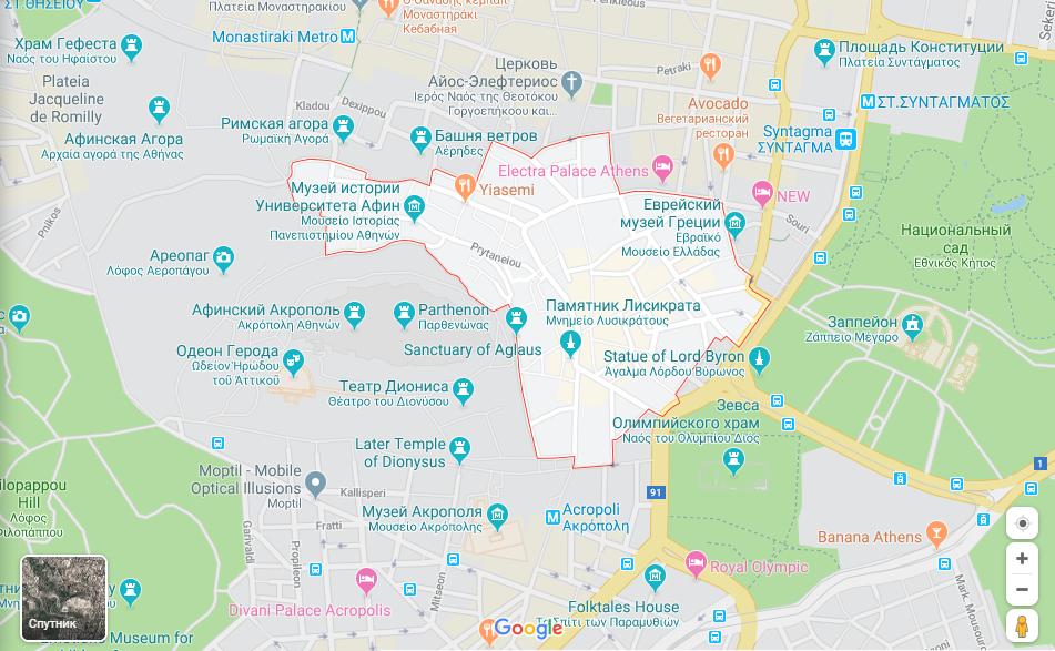 Районы афин отзывы болгария квартира купить