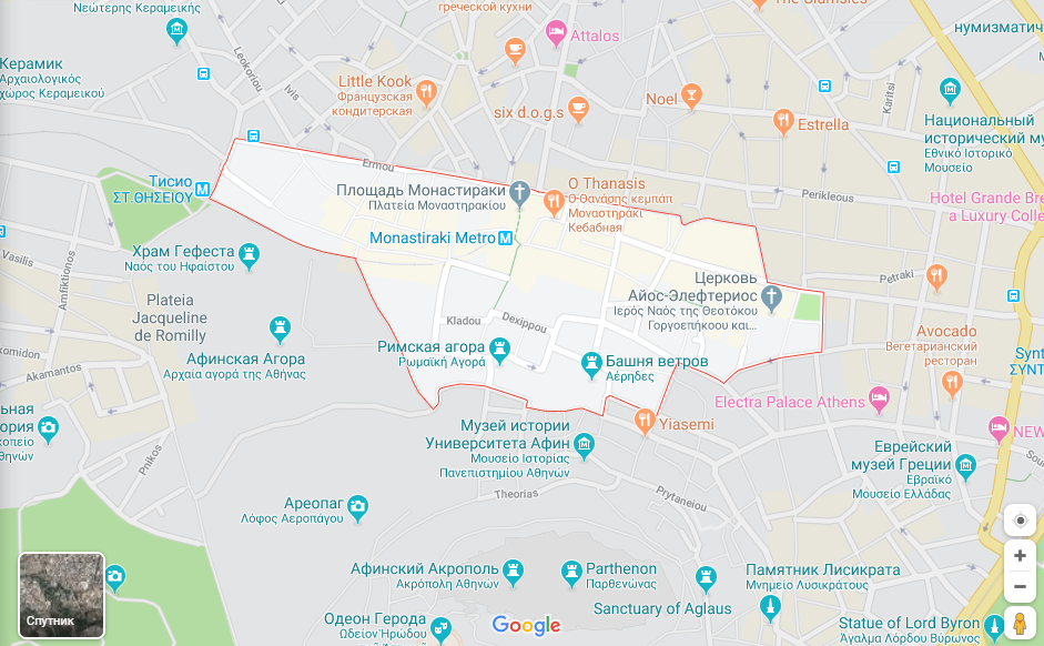 Районы афин отзывы флай дубай отзывы екатеринбург