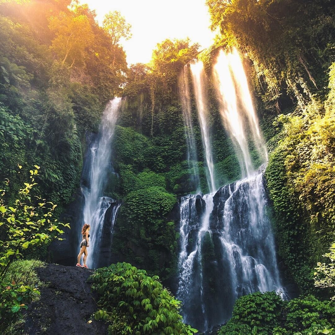 Водопад Секумпул на Бали: как добраться